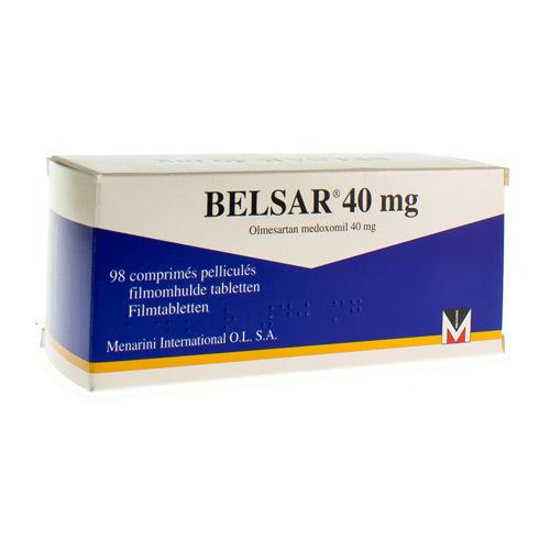 Belsar 40 Mg  98 Comprimes