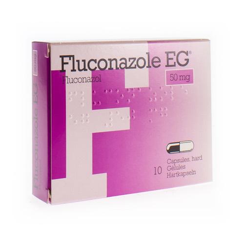 Fluconazole EG 50 Mg (10 Gelules)