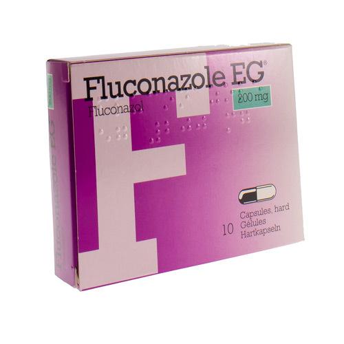 Fluconazole EG 200 Mg (10 Gelules)