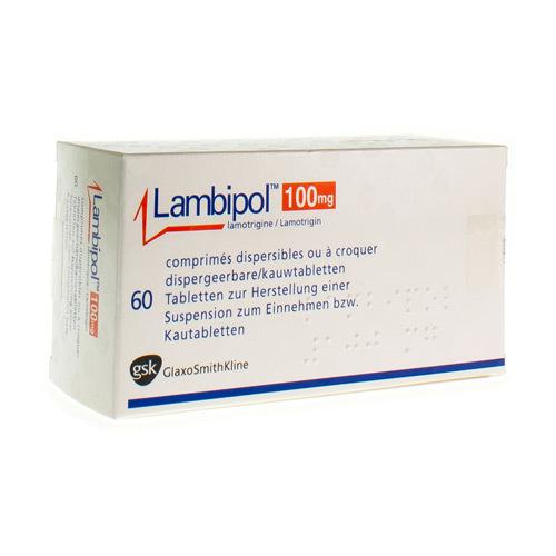 Lambipol 100 Mg (60 Comprimes Dispersibles)