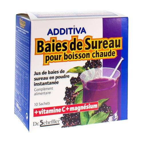 Additive Jus De Baies Boisson Chaude  10 Sachets