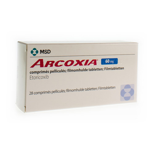 Arcoxia 60 Mg  28 Comprimes