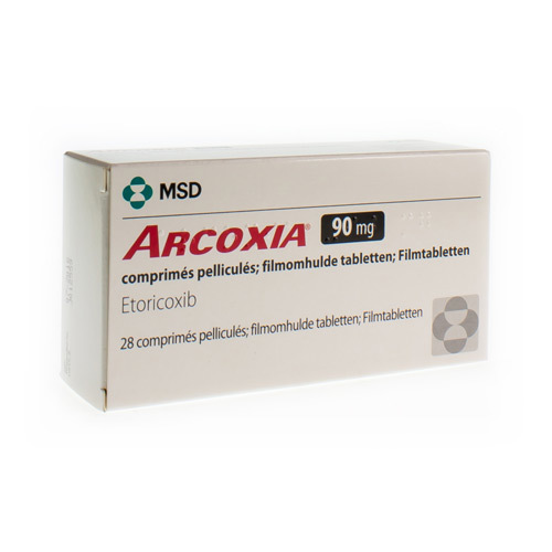 Arcoxia 90 Mg  28 Comprimes