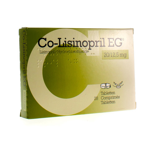 Co-Lisinopril EG 20 Mg / 12,5 Mg  28 Tabletten