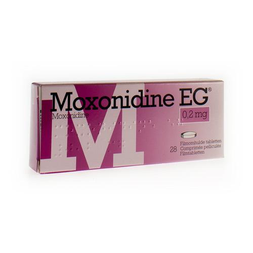 Moxonidine EG 0,2 Mg (28 Comprimes)