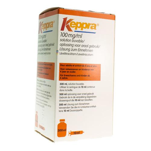 Keppra 100 Mg/Ml - 10 Ml (300 Ml)