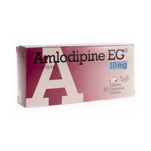 Amlodipine EG 10 Mg  30 Comprimes