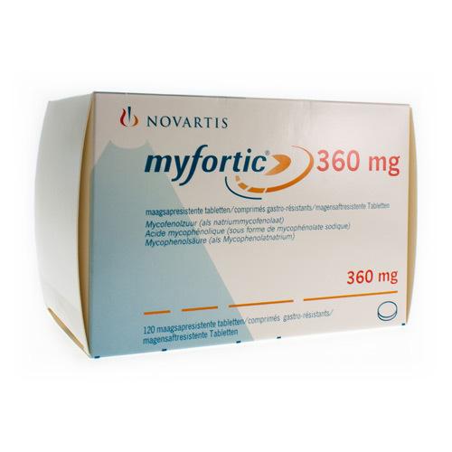 Myfortic 360 Mg (120 Comprimes)