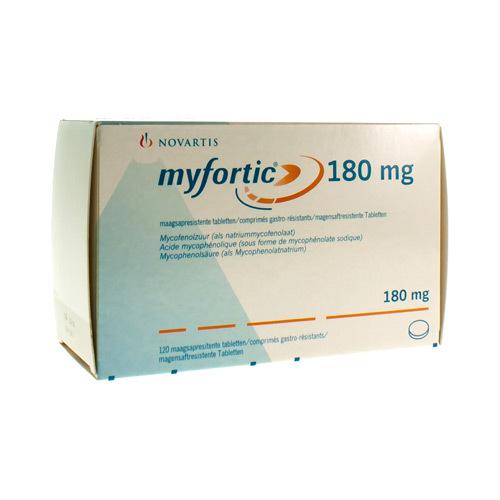 Myfortic 180 Mg (120 Comprimes)