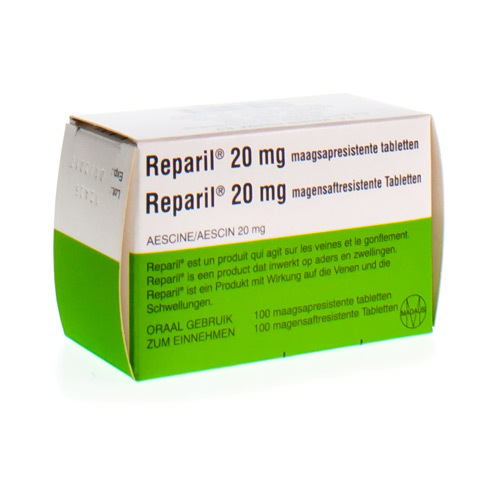 Reparil 20 Mg (100 Maagsapresistente Tabletten)