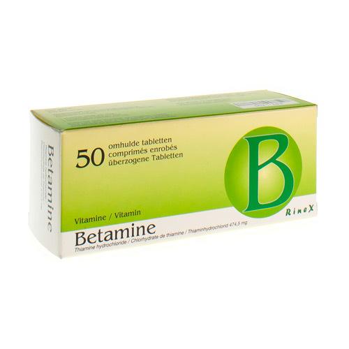 Betamine 474,5 mg (50 tabletten)