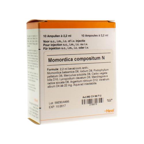 Momordica Compositum N Amp 10X2,2ml Heel