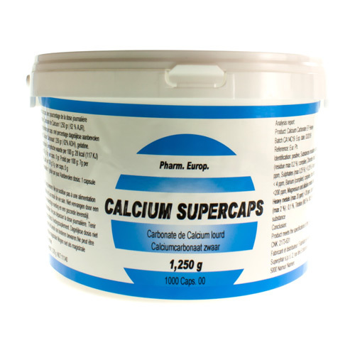Calcium Carb Supercaps 1250 Mg  1000 Capsules