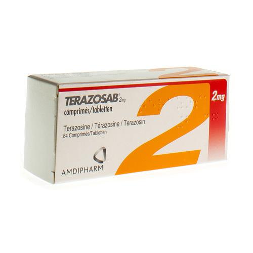 Terazosab 2 Mg (84 Comprimes)