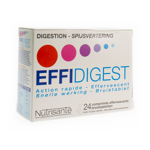 Effidigest Efferv 24Comp