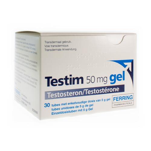 Testim Gel 50 Mg (30 Tubes)
