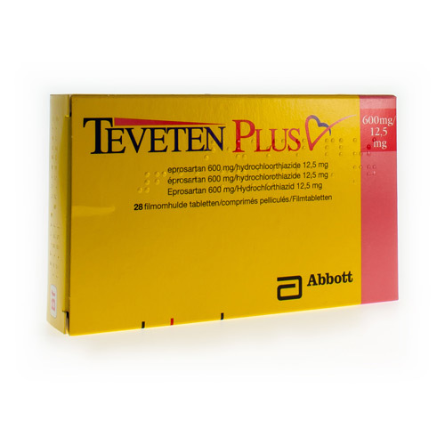 Teveten Plus 600 Mg / 12,5 Mg (28 Tabletten)