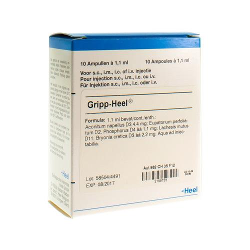 Gripp-Heel Amp 10X1,1ml Heel