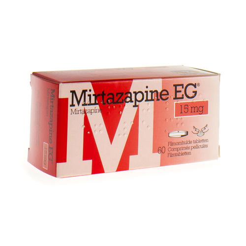 Mirtazapine EG 15 Mg (60 Comprimes)