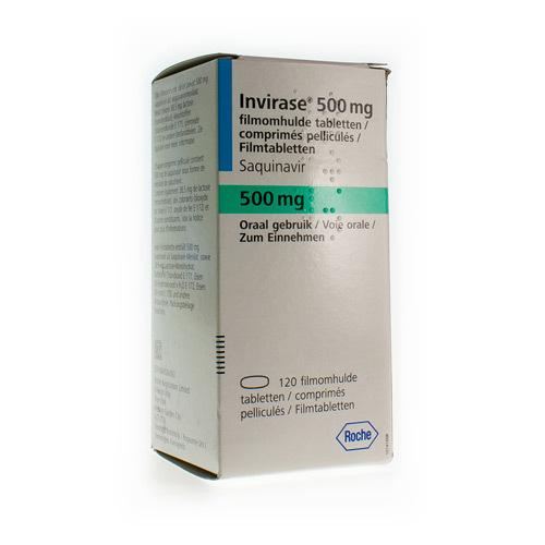 Invirase 500 Mg (120 Comprimes)
