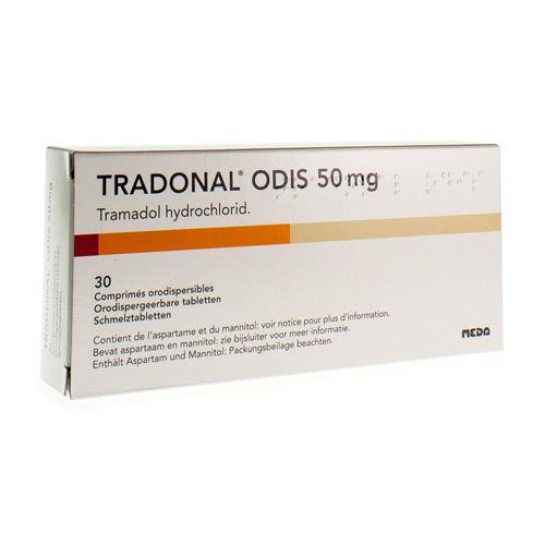 Tradonal Odis 50 Mg (30 Comprimes Orodispersibles)