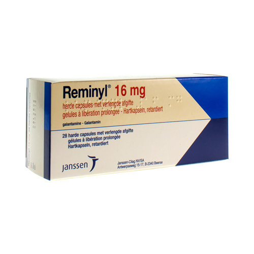 Reminyl Retard 16 Mg (28 Gelules)