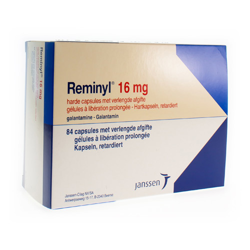 Reminyl Retard 16 Mg (84 Gelules)