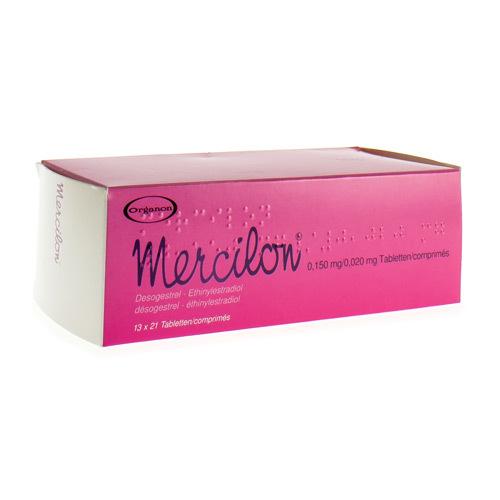 Mercilon 0,150 Mg / 0,020 Mg (13 X 21 Comprimes)