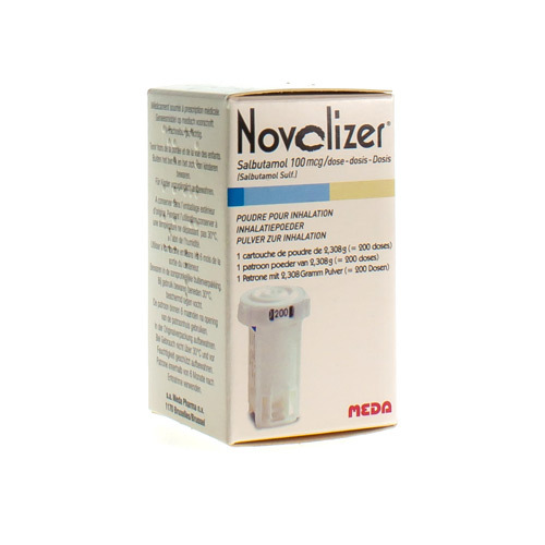 Novolizer Salbutamol Recharge 100 Mcg (200 Doses)