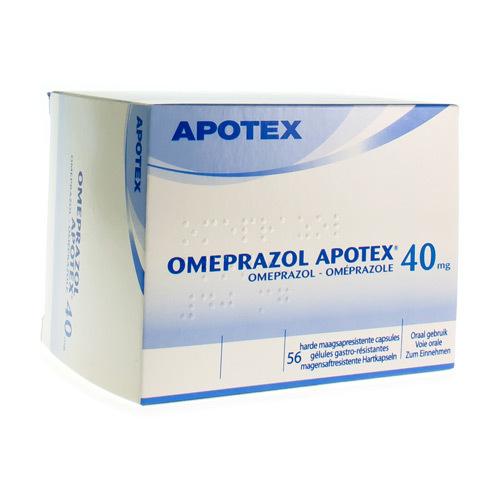Omeprazole Apotex 40 Mg (56 Capsules)