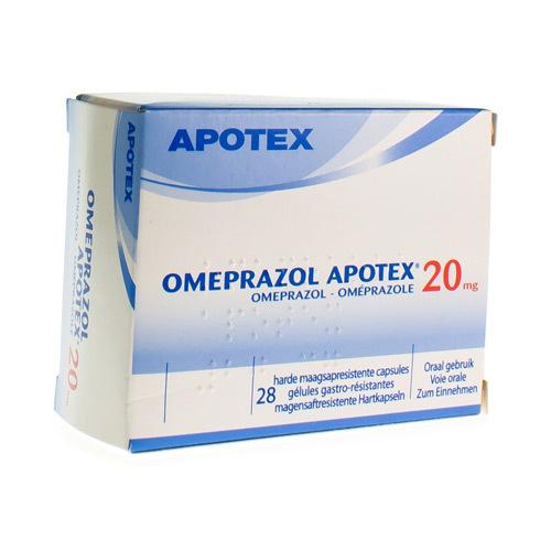 Omeprazole Apotex 20 Mg (28 Capsules)