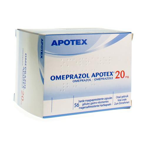 Omeprazole Apotex 20 Mg (56 Gelules)