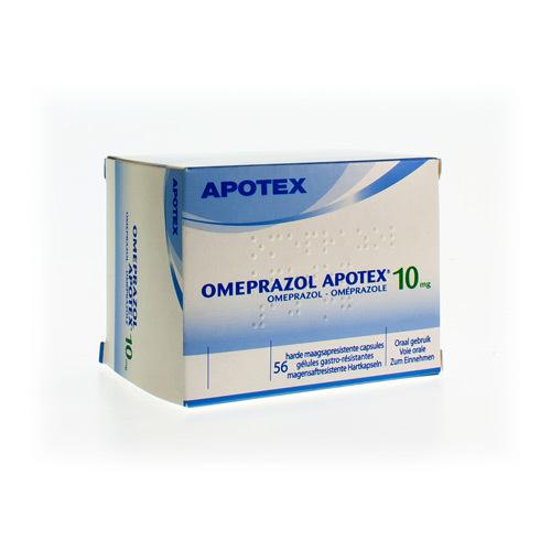 Omeprazole Apotex 10 Mg (56 Gelules)