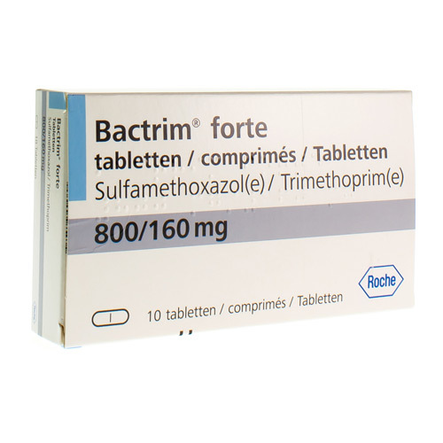 Bactrim Forte 800 Mg / 160 Mg  10 Tabletten