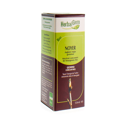 Herbalgem Noyer Macerat Bio 50Ml