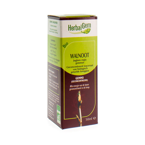 Herbalgem Walnoot Maceraat Bio 50Ml
