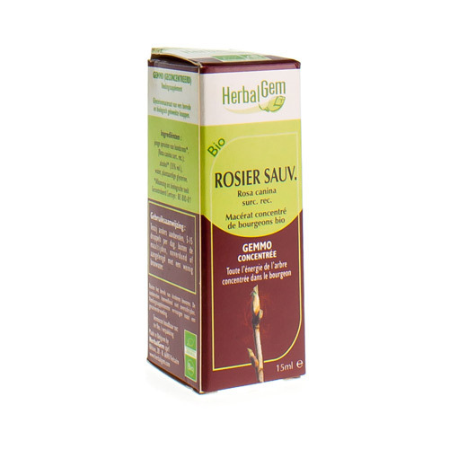 Herbalgem Rosier Sauvage Macerat (15 Ml)