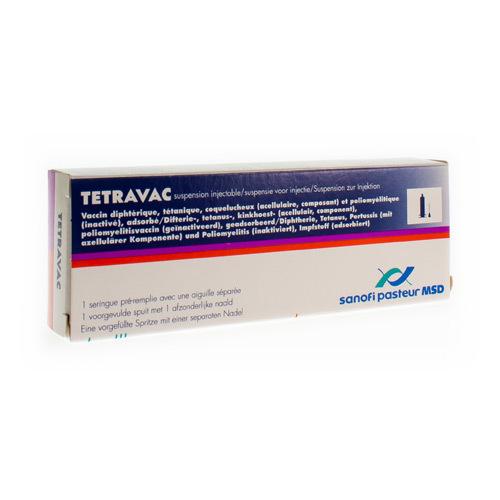 Tetravac Vaccin (1 Seringue)