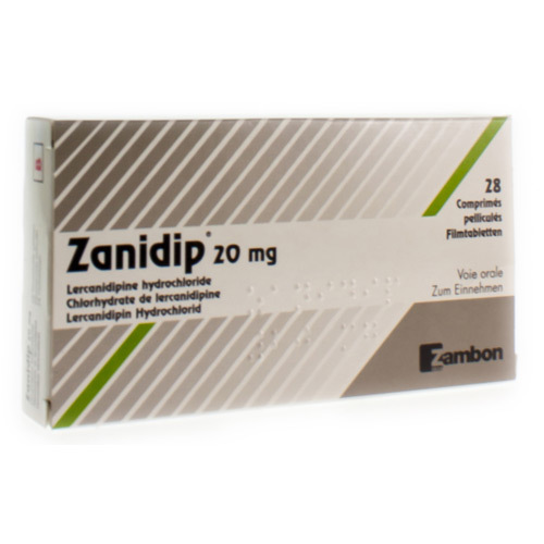Zanidip 20 Mg (28 Tabletten)