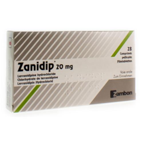 Zanidip 20 Mg (28 Comprimes)