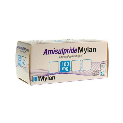 Amisulpride Mylan 100 Mg  60 Comprimes