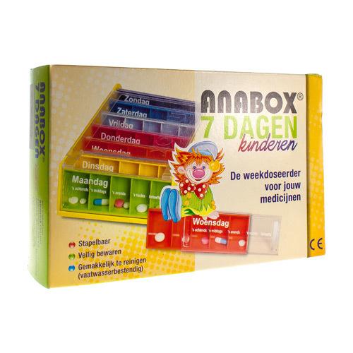 Anabox Pilulier Enfant 7 Jour Nl