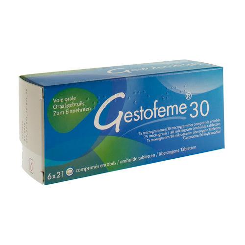 Gestofeme30 75 Mcg / 30 Mcg (6 X 21 Comprimes)