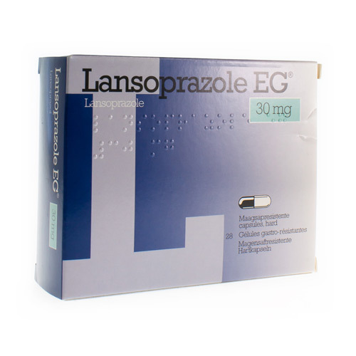 Lansoprazole EG 30 Mg (28 Gelules)