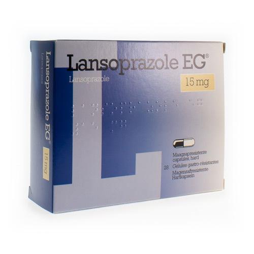 Lansoprazole EG 15 Mg (28 Gelules)