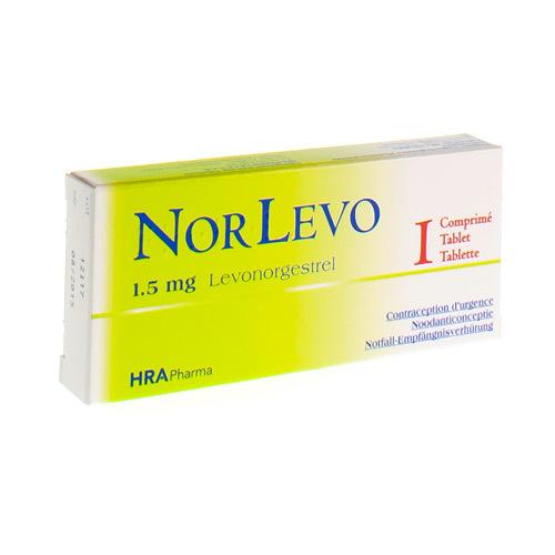 Norlevo 1,5 Mg (1 Comprime)