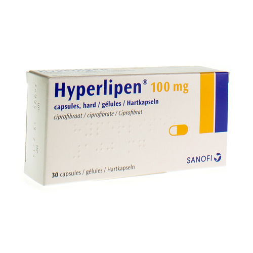 Hyperlipen 100 Mg (30 Gelules)