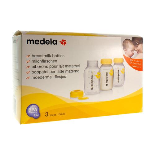 Medela Moedermelkflesjes 3X150Ml R 8000796