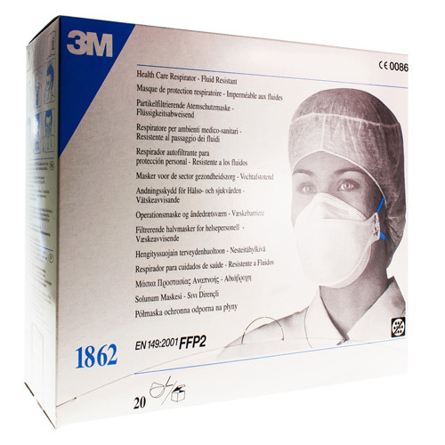 Masque Respiration Ffp2 S/Valve R1862 3M