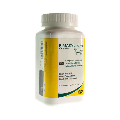 Rimadyl 50 Mg (100 Comprimes)